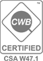CWB Certified CS W47.1