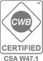 CWB Certified CS W47.1